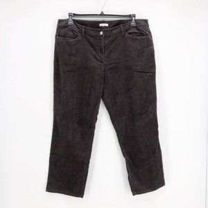 Plus Eileen Fisher Corduroy Straight Leg Pant Jean